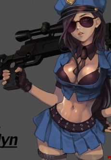 league of legends caitlyn and vi