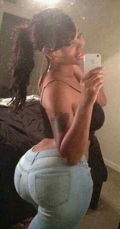 latina selfie in shorts