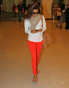 red trousers - Googl