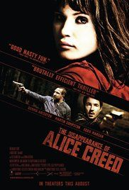 Poster do filme O Desaparecimento de Alice Creed