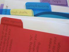 Organize your writin