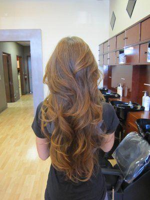 long layered hair cut