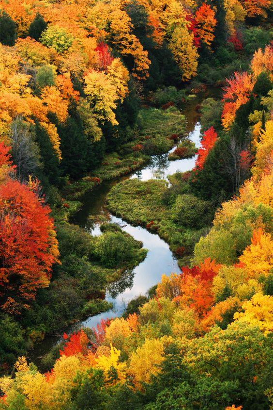 Porcupine Mountains State Park, Michigan:
