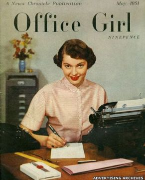 Office Girl Magazine . May,1951: