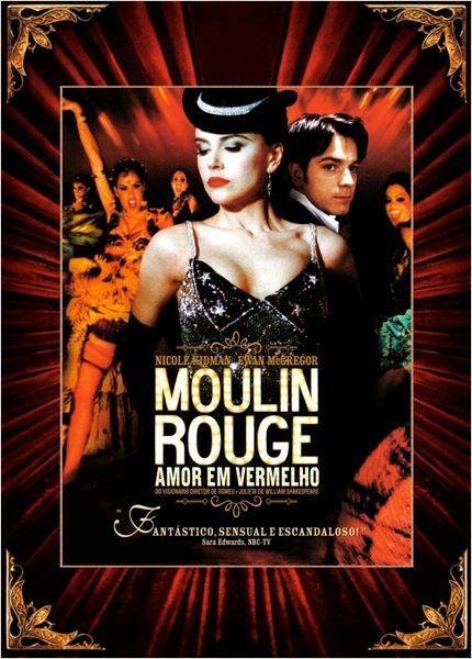 Poster do filme Moulin Rouge: Amor em Vermelho