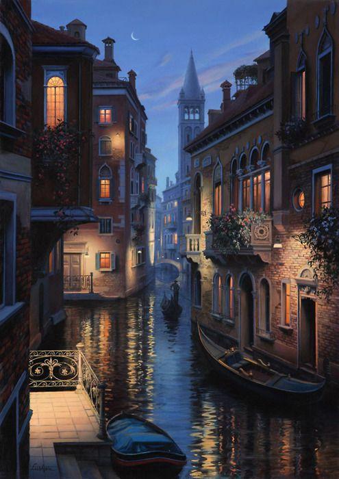 Late Night, Venice, Italy - Beautiful!: