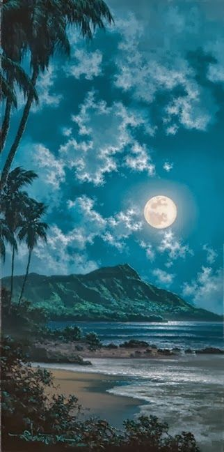 """Their """"BLUE"""" Island! On This Island The Blues Are Playing Constantly From The Moon,The Trees,The Sand,The Water,EVERYTHING Plays and Sings The """"BLUES"""",,,,Cristina Enjoys These Moments,,,,NOT Sad Blues,,,But Songs Of Warm Intimacy.:"""