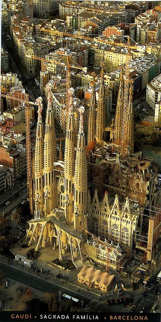 Sagrada Familia, Barcelona, Spain: