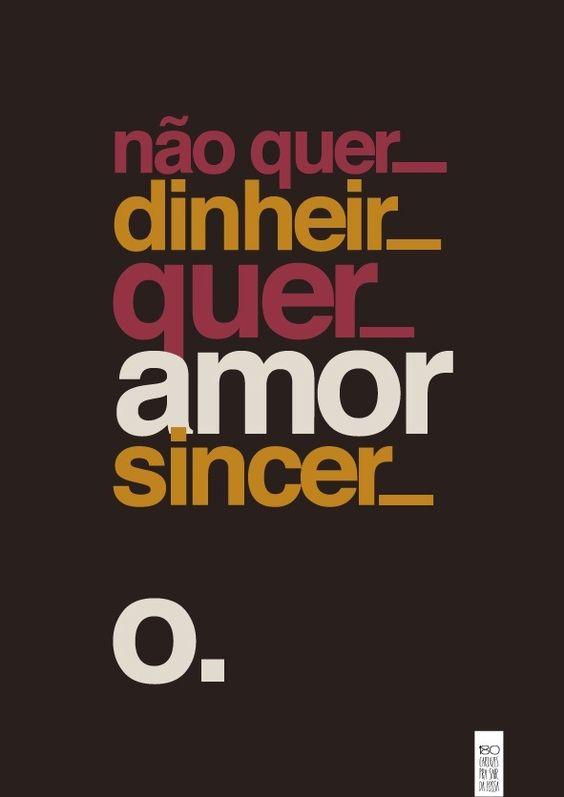 Poster do filme Do Amor, Só o Dinheiro