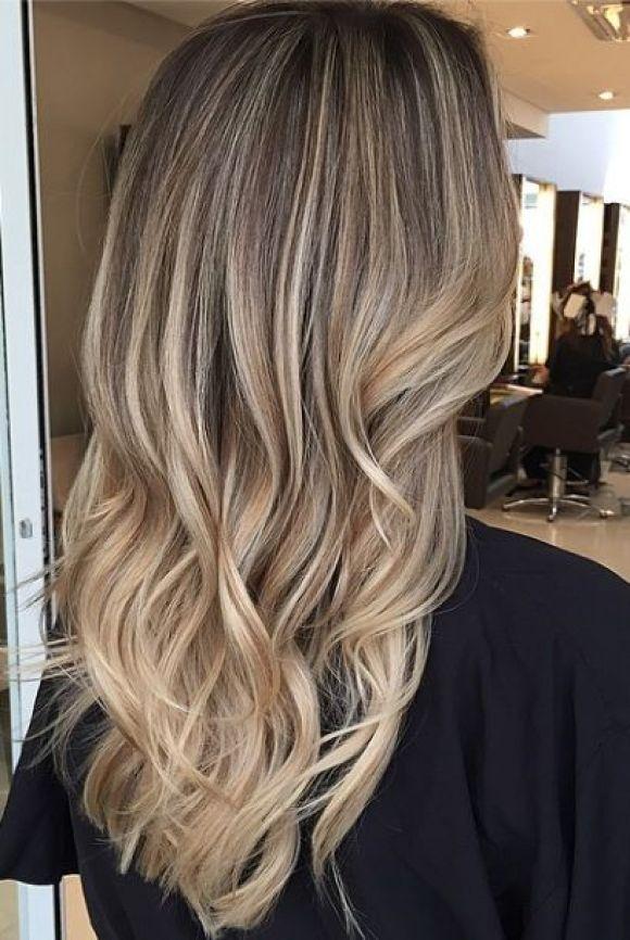 bronde or dark blonde hair color idea: