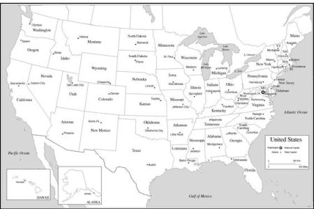 usa map and state capitals. i'm sure i'll need this in a