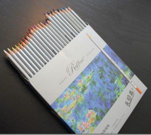 Adult Coloring Review: Siensync 48 Color Art Colored Drawing Pencils | Paulette's Papers: