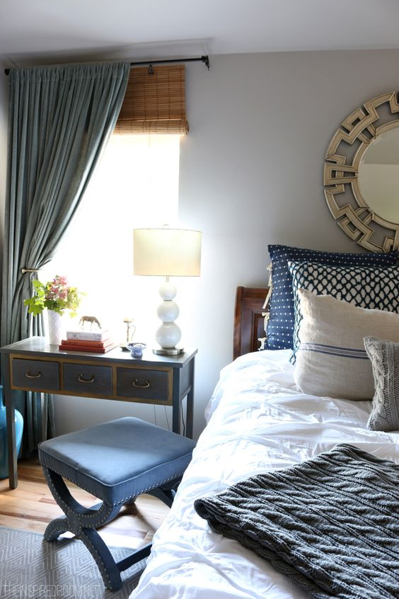 organize master bedroom
