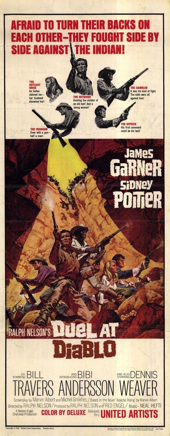 Poster do filme Duelo em Diablo Canyon