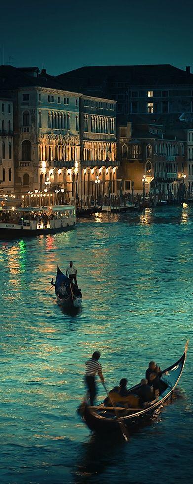Venice at dusk: