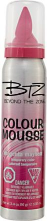 Beyond The Zone Colour Mousse Magenta: