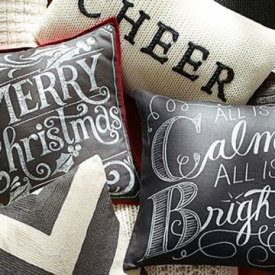 All is Calm All is Bright Pillow Cover