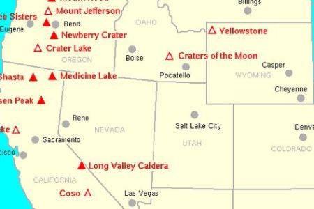 volcanoes of the western united states | volcano