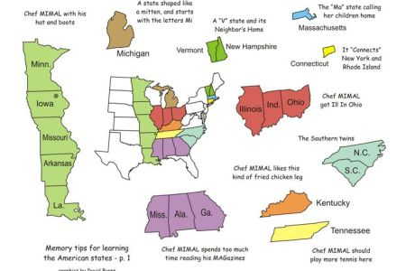 44 best images about learning the states on pinterest