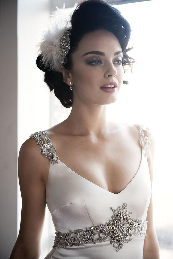 weddings swarovski wedding dress Swarovski wedding dress by Anna Schimmel Auckland NZ