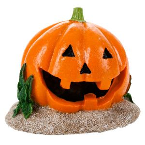 Pumkin Halloween Aquarium Ornament | Ornaments | PetSmart | Aquarium