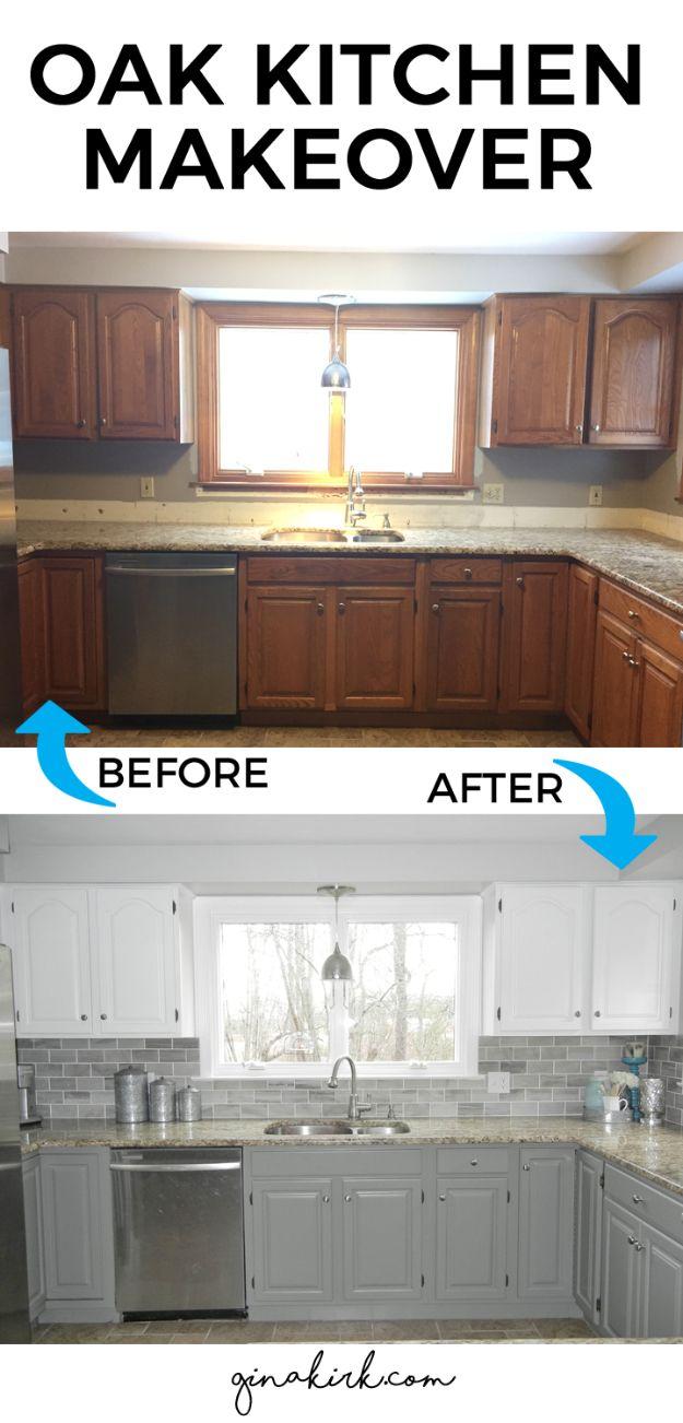 updating kitchen cabinets cheap kitchen remodel 37 Brilliant DIY Kitchen Makeover Ideas