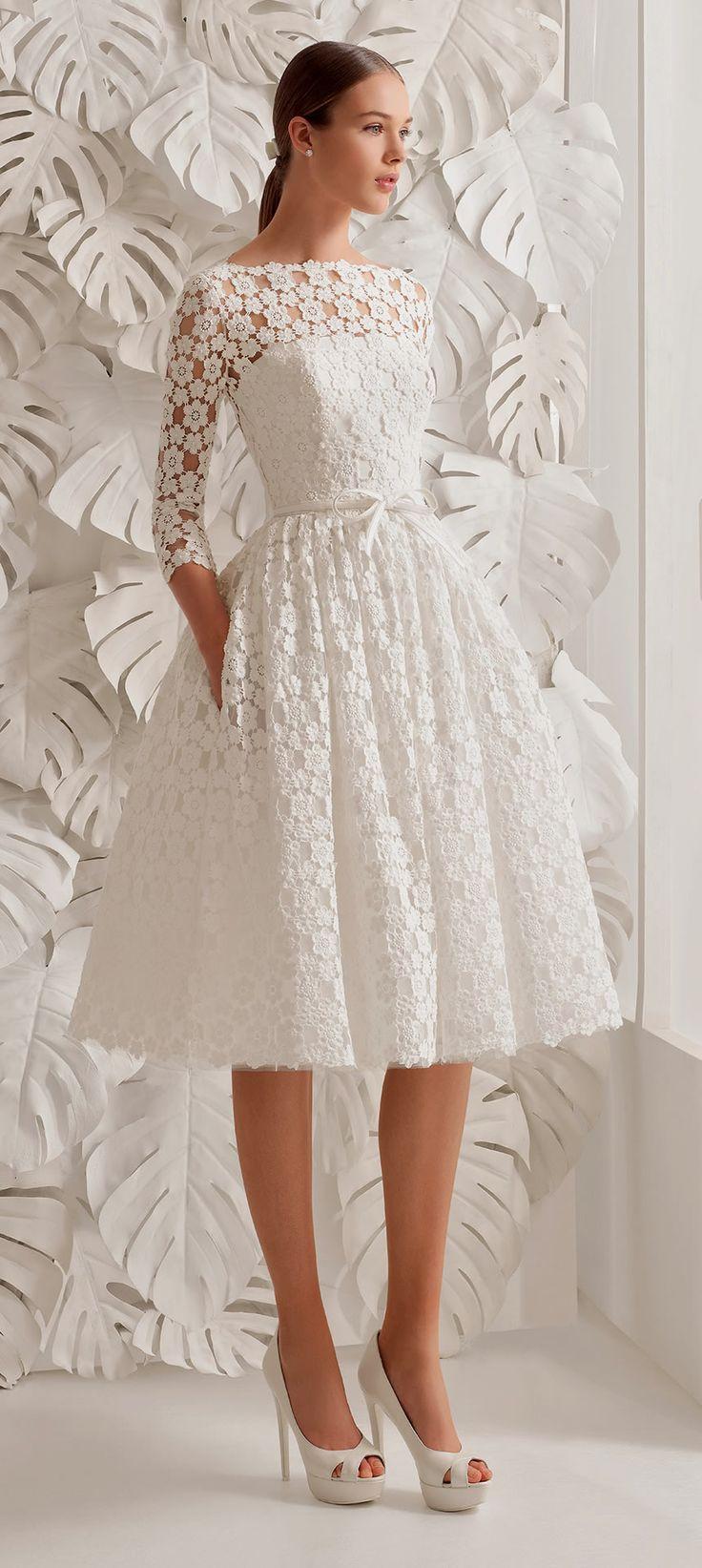 short wedding dresses wedding dresses short rosa clara short wedding dress