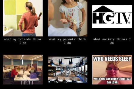 interior design student, what people think i do, what i