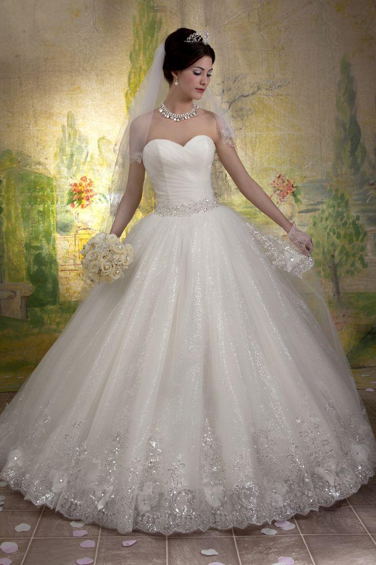 ball gown wedding dress cinderella wedding dresses Beautiful ball gown wedding dress by Mary s Bridal