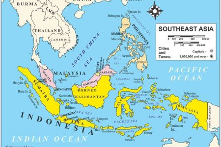 asia map labeled east asia map labeled download east asia and ...