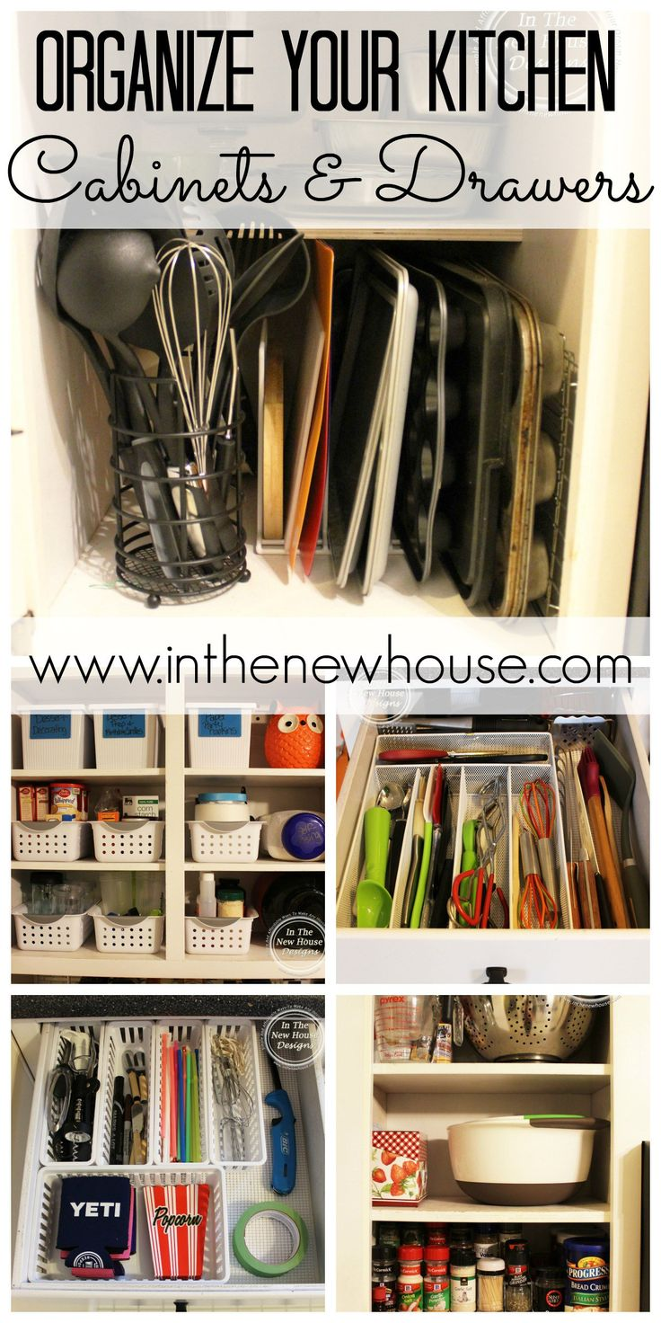 junk drawer kitchen cabinet organizers It All Started With The Junk Drawer How To Organize Your Kitchen CabinetsOrganizing