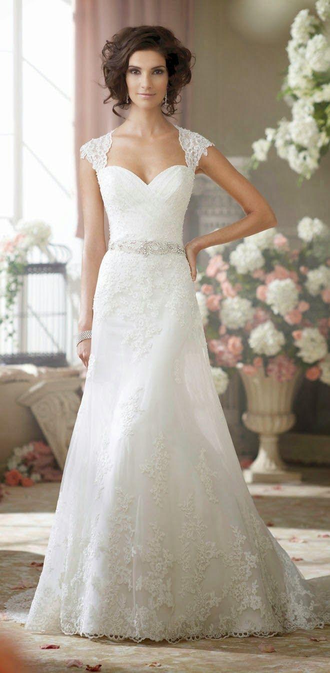 david tutera short sleeve wedding dress Best Wedding Dresses of