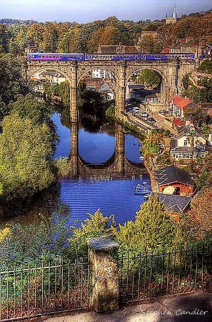 Knaresborough, North Yorkshire, England: