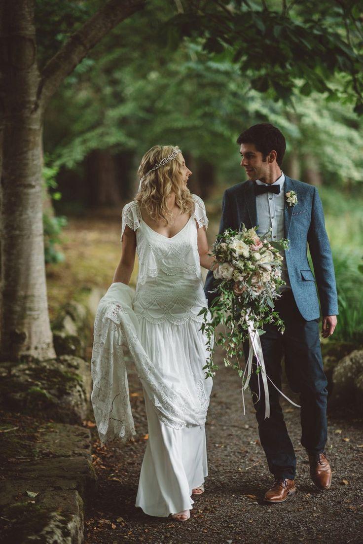 woodland wedding dress woodland wedding dress Whimsical Boho Woodland Wedding