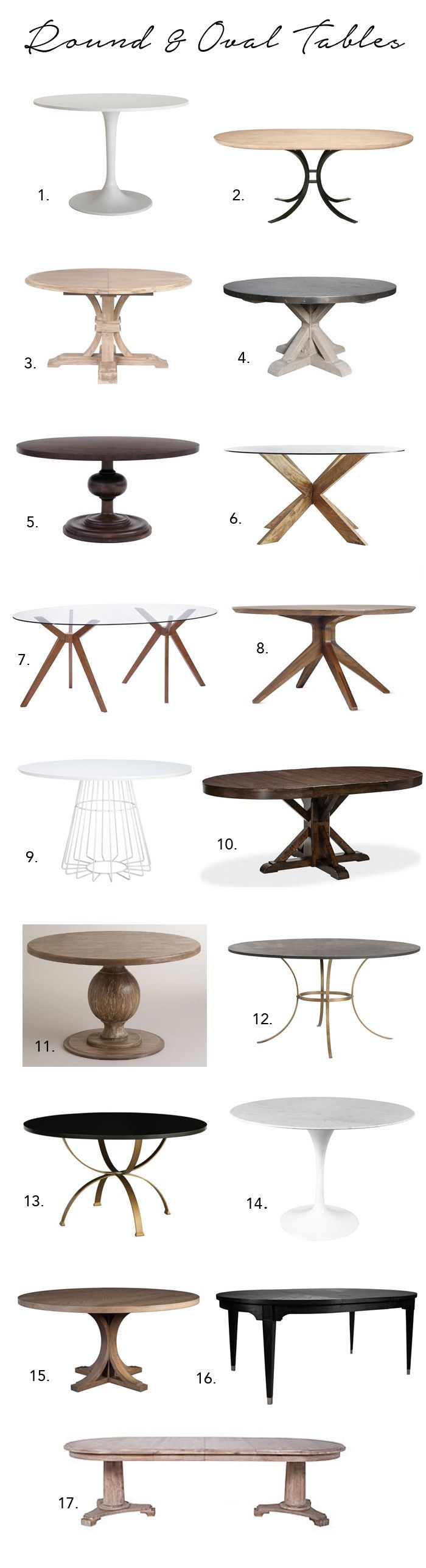 small round kitchen table small kitchen table Elements of Style Blog A Huge Dining Table Roundup http