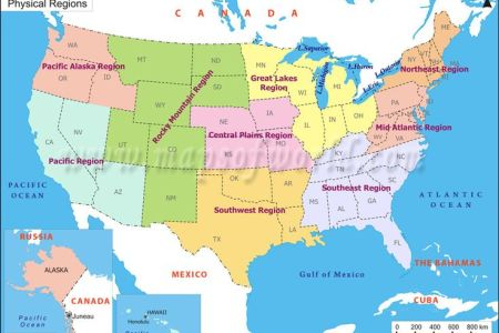 united states regional map may need this knowledge! | fyi