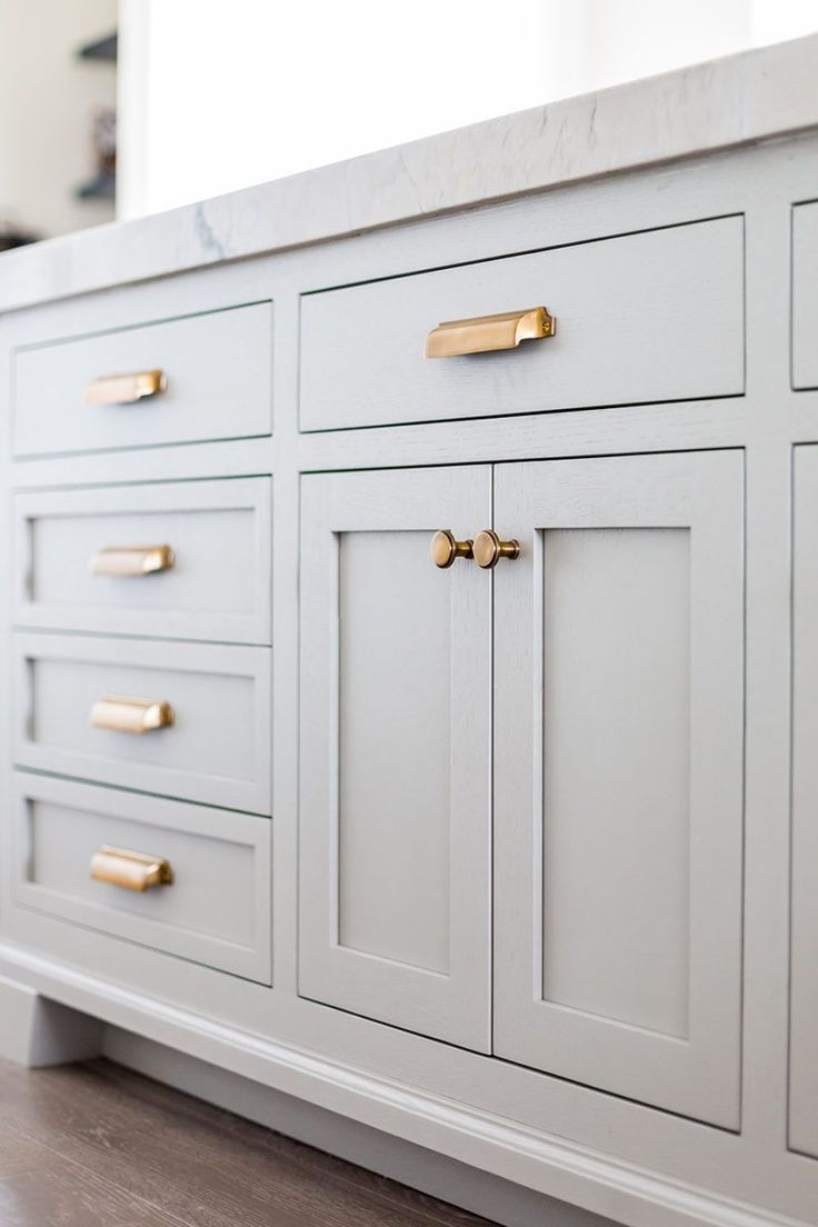 oak cabinet kitchen hardware kitchen cabinets Top Hardware Styles To Pair With Your Shaker Cabinets VINTAGE BIN PULLS Old