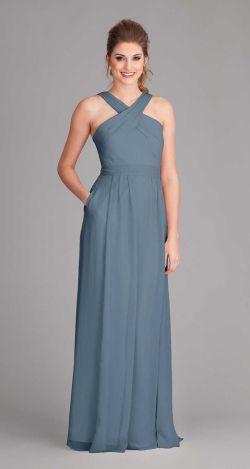 Small Of Slate Blue Bridesmaid Dresses