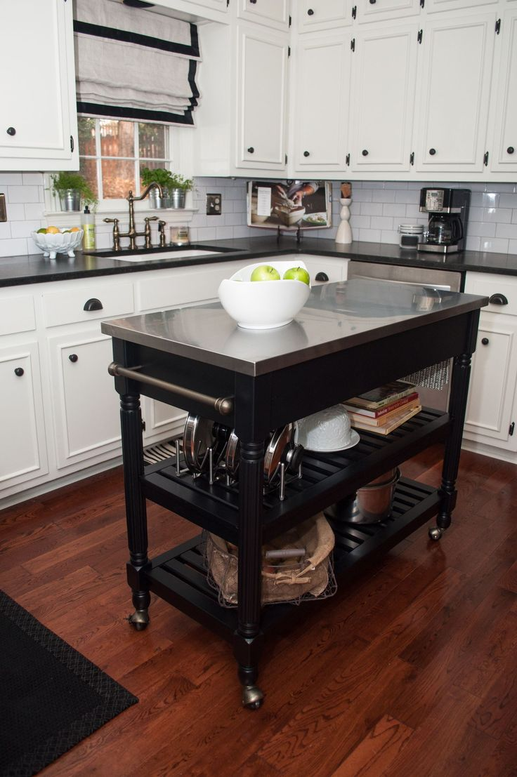 portable kitchen island install kitchen island 10 Types of Small Kitchen Islands on Wheels