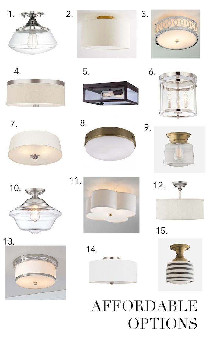flush mount lighting kitchen ceiling light fixtures Elements of Style Blog The Dreaded Boob Light http Ceiling Fixtures Flush MountBathroom Ceiling