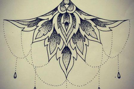 240b9d5d6007fad9ad577e44229c013b design mandala mandala sternum tattoo