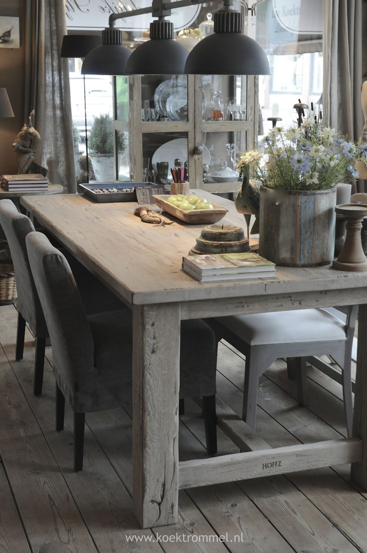 rustic wood tables industrial kitchen table 25 best ideas about Rustic Wood Tables on Pinterest Rustic wood dining table Kitchen dining room tables and Reclaimed wood tables