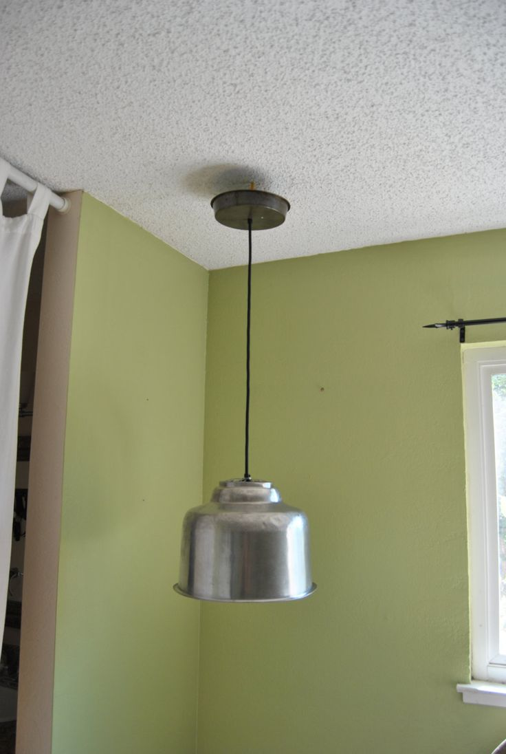 farmhouse kitchen lighting country kitchen lighting Farmhouse kitchen vintage milk strainer pendant country barn rustic decor repurposed upcycle stainless steel edison bulb