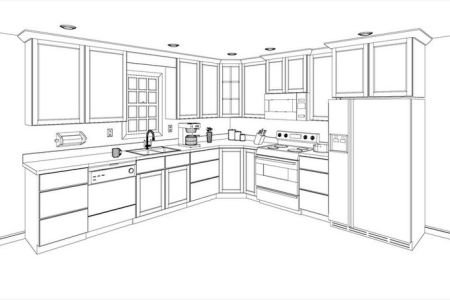 free 3d kitchen design layout | kitcad free 2d and 3d