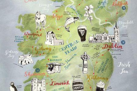 0db409a9d40c718d6a0093a19bda0b2b map of ireland our road trip route 640x409 2f1f702c0d32c1ff283f3155726809d3 ireland travel ireland road trip map