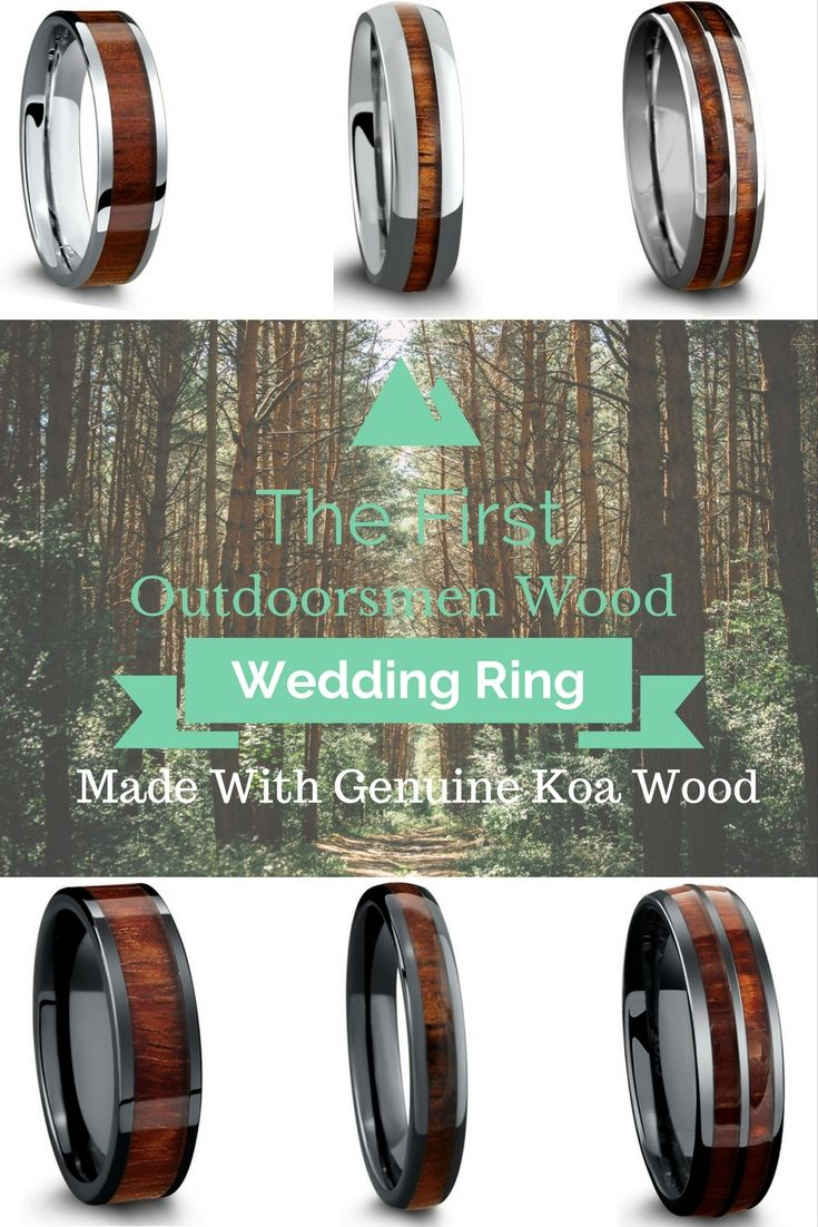 wood wedding rings outdoorsman wedding band A mens wedding ring that speaks my future husbands name These outdoorsmen wood