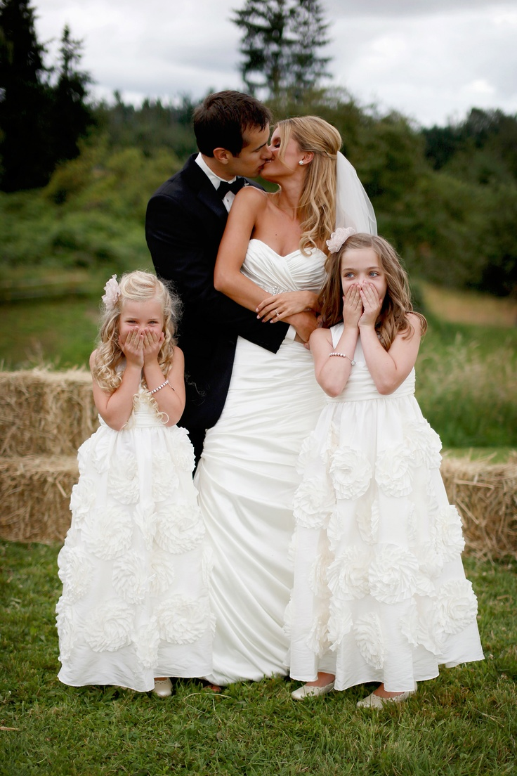 country girl wedding dresses French country flower girl dresses Romantic Hometown Wedding Pinterest Cute pictures Flower girl pictures and Picture ideas