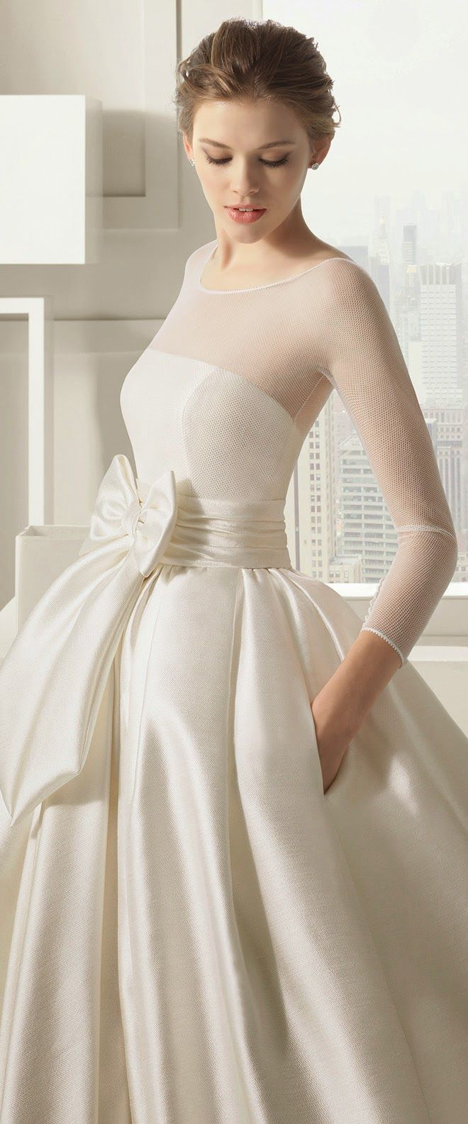 wedding dresses with pockets wedding dress with pockets Rosa Clara Bridal Collection Part 2