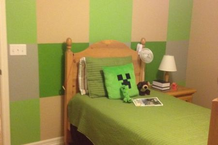 alfa img showing > minecraft bedroom ideas for boys
