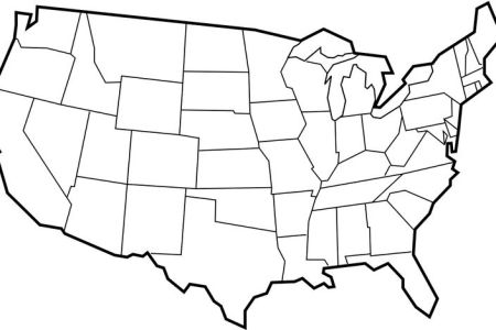 blank maps of usa | free printable maps blank map of the